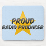 Productor de radio orgulloso alfombrilla de raton