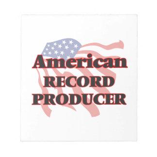 Productor de registro del americano blocs de papel