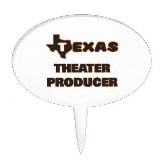 Productor del teatro de Tejas Figuras De Tarta