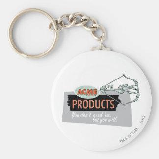 Productos 9 de la cumbre del coyote del Wile E Llavero Personalizado