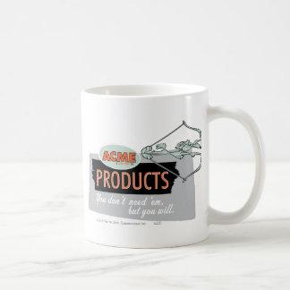 Productos 9 de la cumbre del coyote del Wile E Tazas De Café