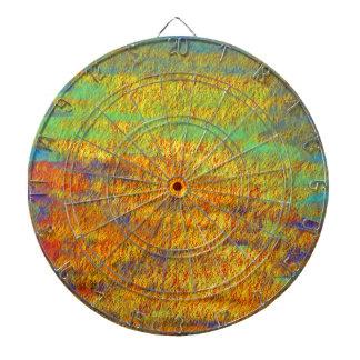 Productos abstractos impresionistas de la bella tabla dardos