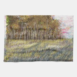Productos abstractos impresionistas de la bella toalla de mano
