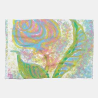 Productos abstractos impresionistas de la bella toallas de mano