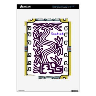 PRODUCTOS ADAPTABLES DEL MAYA 04 AZTECAS DE iPad 3 PEGATINA SKIN
