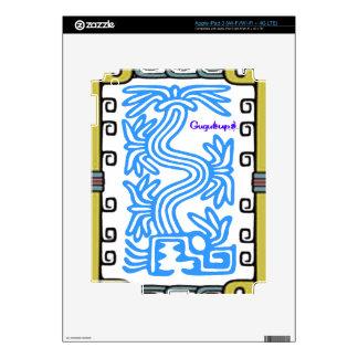 PRODUCTOS ADAPTABLES DEL MAYA 07 AZTECAS DE PEGATINAS SKINS PARA iPad 3