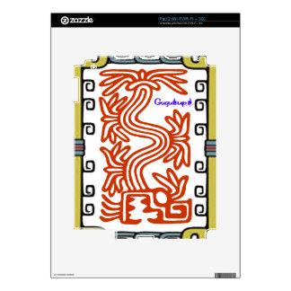 PRODUCTOS ADAPTABLES DEL MAYA 08 AZTECAS DE CALCOMANÍA PARA iPad 2
