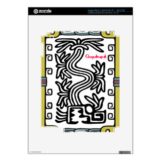 PRODUCTOS ADAPTABLES DEL MAYA 10 AZTECAS DE iPad 3 SKINS
