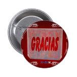 PRODUCTOS ADAPTABLES ROJOS DE GRACIAS PINS