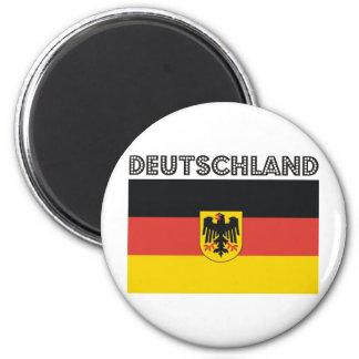 ¡Productos alemanes y diseños de Deutsch! Imán Redondo 5 Cm