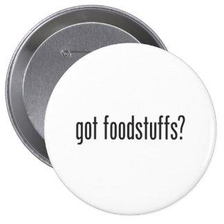 productos alimenticios conseguidos pin redondo 10 cm