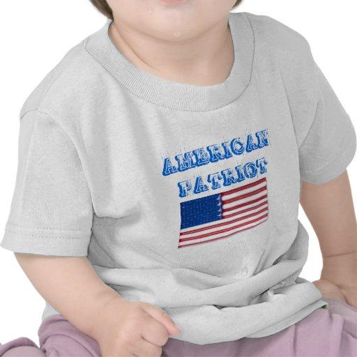 Productos americanos del patriota camisetas