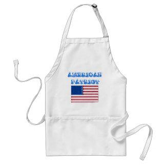 Productos americanos del patriota delantal