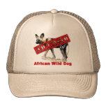 Productos animales en peligro africanos del perro  gorros