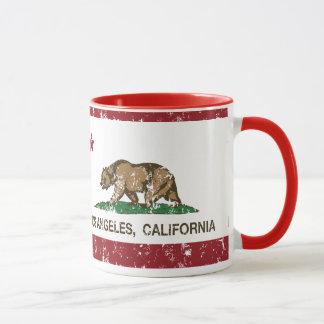 productos apenados Los Ángeles de la bandera de Taza