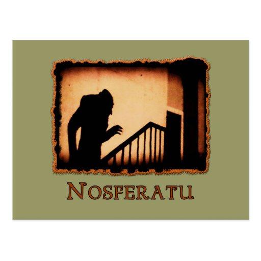 Productos asustadizos del vampiro de Nosferatu Tarjetas Postales