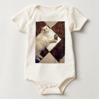 Productos atractivos del gato mamelucos de bebé