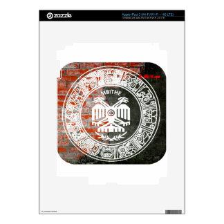 PRODUCTOS AZTECAS DEL PERSONALIZABLE DE LA PARED iPad 3 SKINS