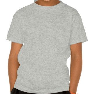 Productos azules del signo de la paz camisetas