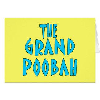 Productos azules magníficos de la fuente de Poobah