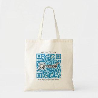 Productos básicos del código de QR Bolsa Tela Barata