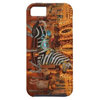 Productos blancos y negros de la cebra iPhone 5 carcasas