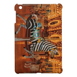 Productos blancos y negros de la cebra iPad mini carcasas