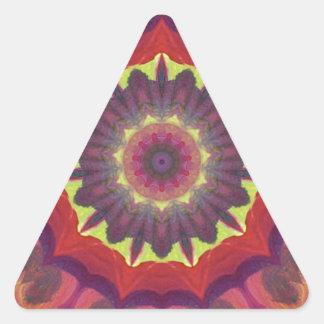 Productos brillantes y únicos del diseño del color pegatina triangular