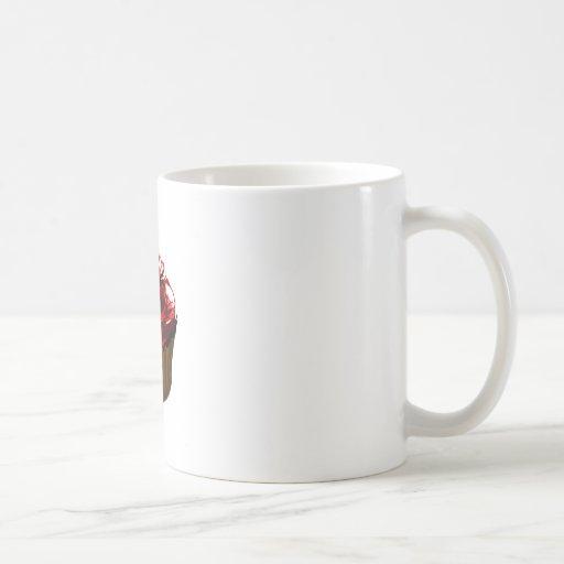 Productos color de rosa de la plantilla de la magd taza de café