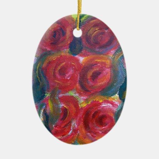 Productos color de rosa del diseño floral ornamentos de reyes magos