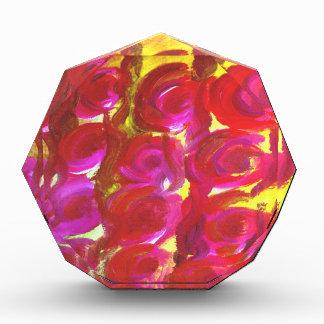 Productos color de rosa del diseño floral
