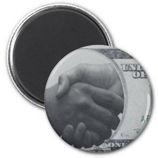 Productos con el dólar americano imán redondo 5 cm