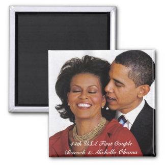 Productos conmemorativos presidenciales imán cuadrado