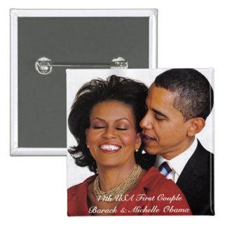 Productos conmemorativos presidenciales pin cuadrado