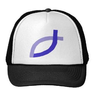 Productos cristianos - azul gorras