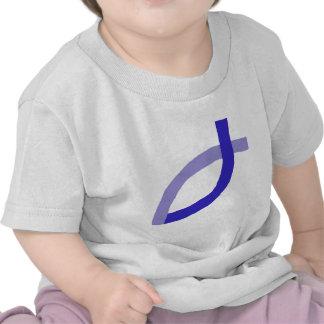 Productos cristianos - azul camisetas