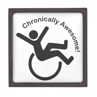Productos crónicos de la conciencia de la enfermed caja de regalo de calidad