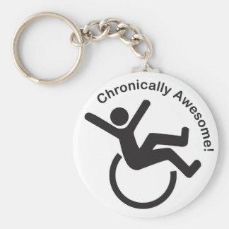 Productos crónicos de la conciencia de la enfermed llaveros personalizados
