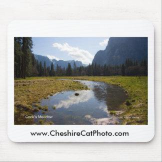 Productos de abril Yosemite California del prado d Mouse Pad