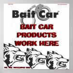 PRODUCTOS DE BAIT-CAR.COM POSTERS