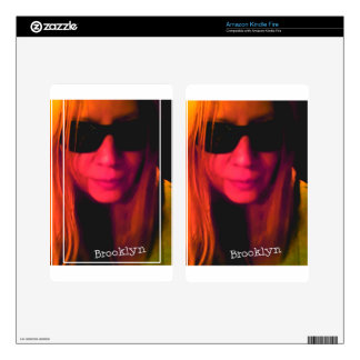 Productos de Brooklyn de las gafas de sol Kindle Fire Pegatinas Skins