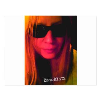 Productos de Brooklyn de las gafas de sol Postal