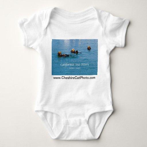Productos de California de la nutria de mar de T Shirt