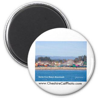 Productos de California del paseo marítimo de la p Imán Redondo 5 Cm