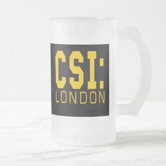 Productos de CSI Londres Taza Cristal Mate