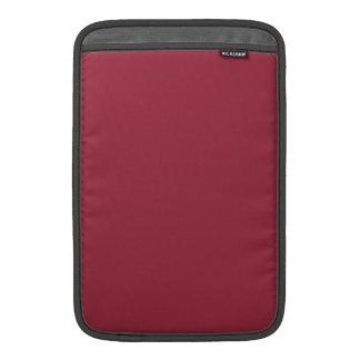 Productos de encargo color de rosa oscuros del col funda  MacBook