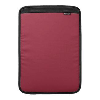 Productos de encargo color de rosa oscuros del col fundas macbook air