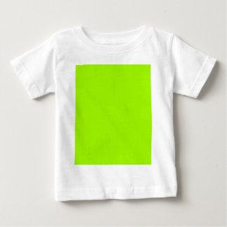 Productos de encargo verdes de neón del color playera