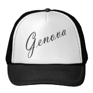 ¡Productos de Génova! Gorras