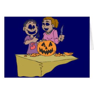 Productos de Halloween Tarjeta De Felicitación